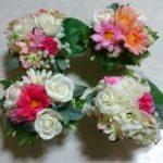 造花で素敵なフラワーアレンジメント!プレゼントや部屋の素敵なインテリアを自分で作ってみてはいかが?!